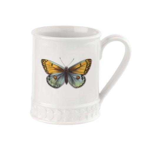 Portmeirion Botanic Garden Harmony Amber Blue Butterfly Mug
