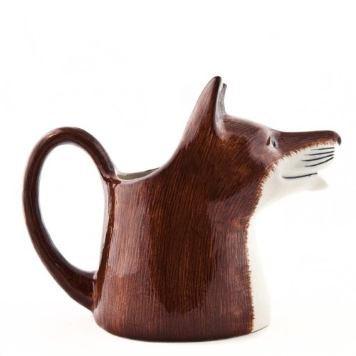 Quail Ceramics Quail Fox Medium Jug