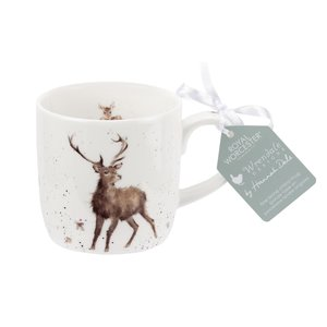 Wrendale Wrendale Wild At Heart Small Stag Mug