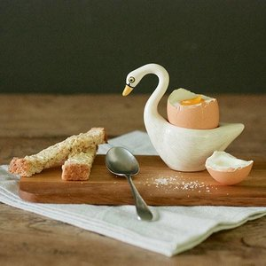 Hannah Turner Hannah Turner White Swan Egg Cup