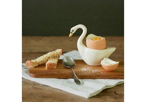 Hannah Turner Egg Cup White Swan