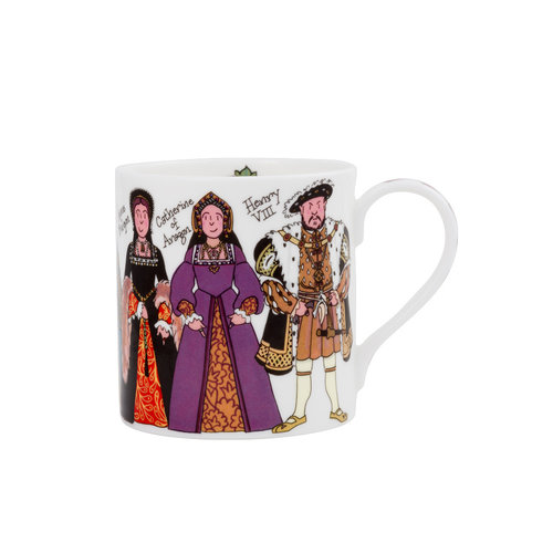 Alison Gardiner Henry VIII  and His Wives Mug