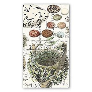Michel Design Works Nest & Eggs Hostess Napkin