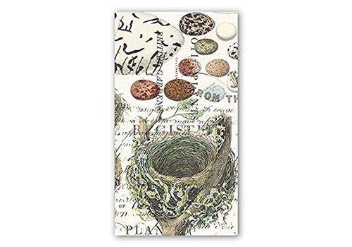 Michel Design Works Nest & Eggs Hostess Napkin
