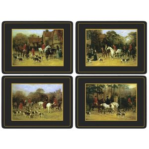 Pimpernel Pimpernel Tally Ho Placemats Set of 4