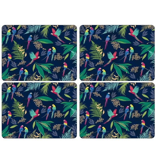 Portmeirion Sara Miller Parrot Placemats Set of 4