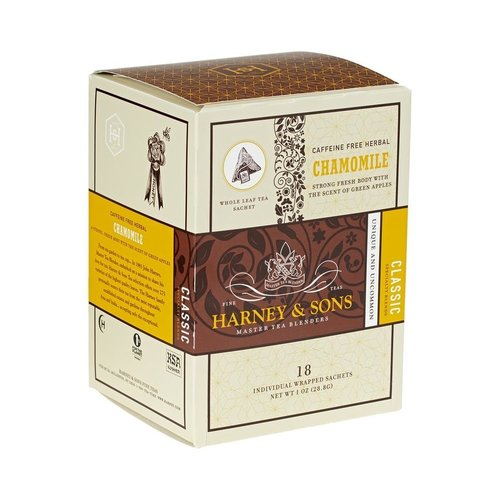 Harney & Sons Harney & Sons Chamomile Box of 18 Wrapped Sachets