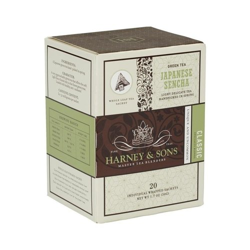 Harney & Sons Harney & Sons Japanese Sencha Box of 20 Wrapped Sachets