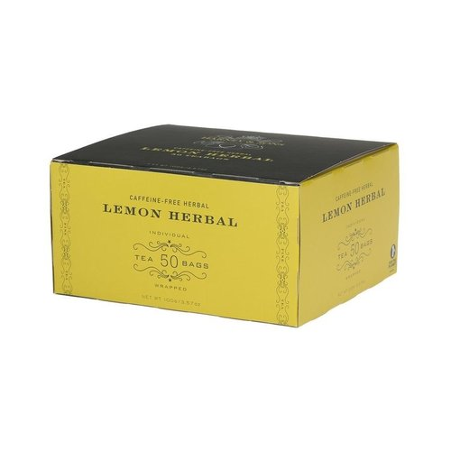 Harney & Sons Harney & Sons Lemon Herbal 50 Count Box