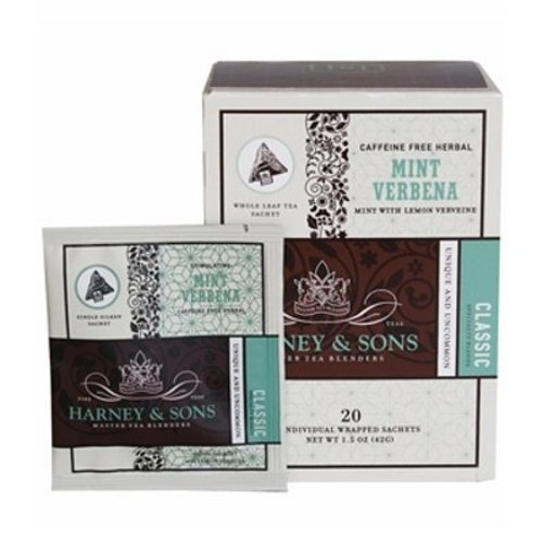 Harney & Sons Harney & Sons Mint Verbena Box of 20 Wrapped Sachets