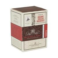 Organic English Breakfast Box of 20 Wrapped Sachets