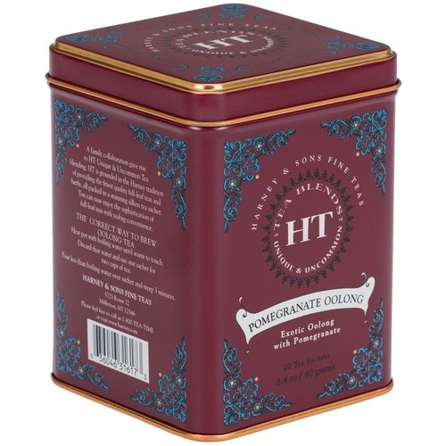 Harney & Sons Harney & Sons Pomegranate Oolong 20s Tin