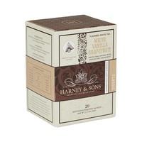 Harney & Sons White Vanilla Grapefruit Box of 20 Wrapped Sachets