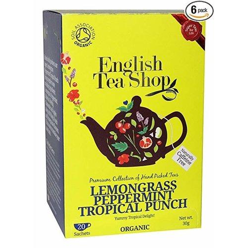 English Tea Shop English Tea Shop Lemongrass Peppermint Tropical Punch