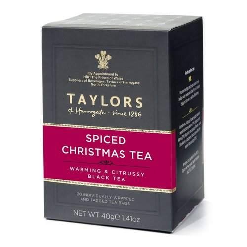 Taylors of Harrogate Taylors of Harrogate Spiced Christmas Tea 20s