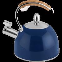 Navy Tea Kettle