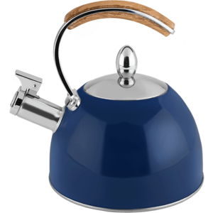 Pinky Up Navy Tea Kettle