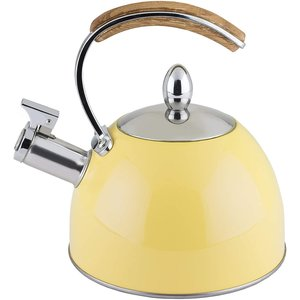 Pinky Up Yellow Tea Kettle