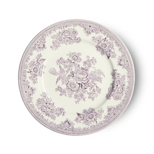 Burleigh Pottery Asiatic Pheasants Plum 7 inch Plate