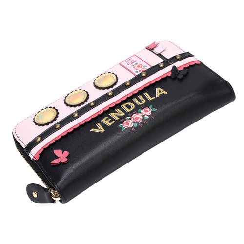 Vendula Love Boat Zip Around Wallet Pink