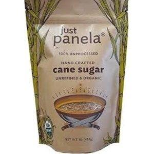 100% Organic and Unrefined Cane Sugar