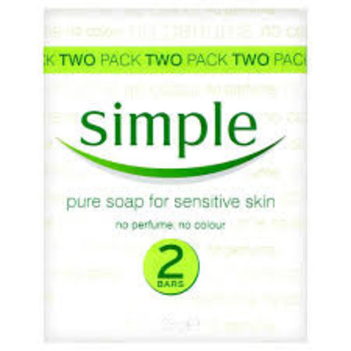 Pure Soap for Sensitive Skin 2 Pack