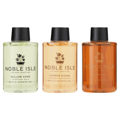 Noble Isle Noble Isle Bath & Shower Trio Gift Set 3x75ml Fireside, Summer Rising, Willow Song