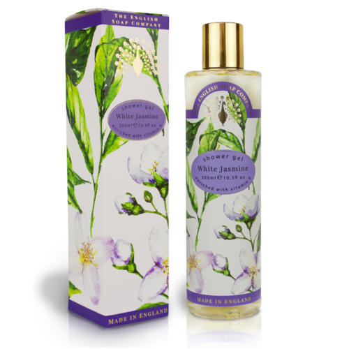 The English Soap Company White Jasmine Shower Gel 300ml