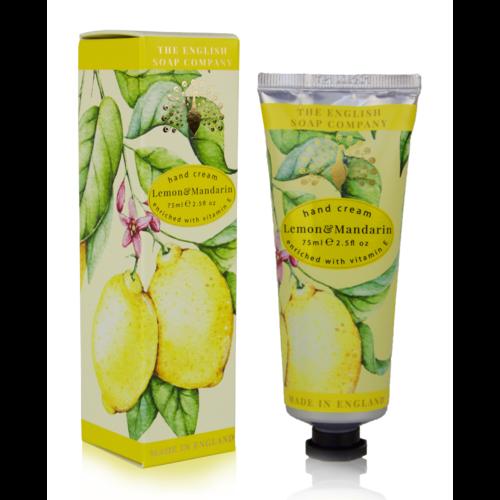 The English Soap Company Lemon & Mandarin Hand Cream 75ml
