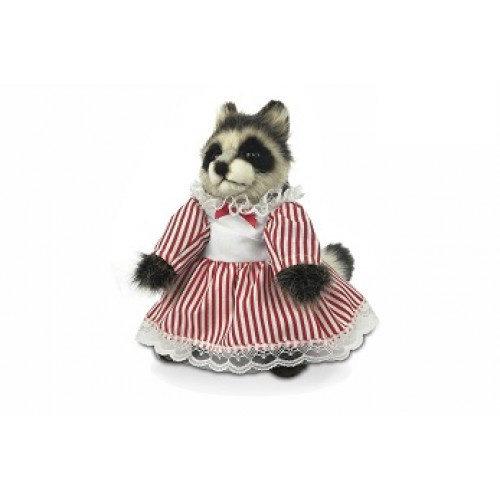 Hansa Creation USA Hansa Raccoon Girl 9''H