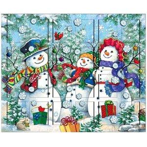 Snowman Family Advent Calendar