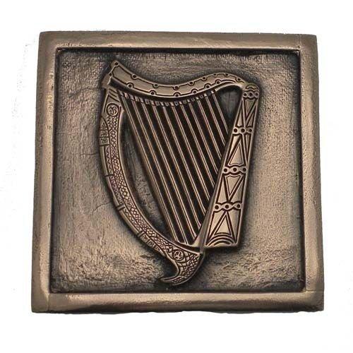 Wild Goose Wild Goose Irish Harp Plaque