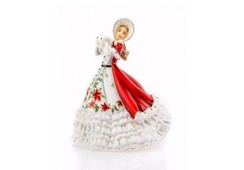 English Ladies Figurines English Ladies Co. Christmas Cheer