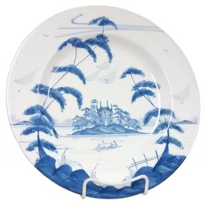 Isis Ceramics Isis Blue English Garden - Gothic Pavilion - Dinner Plate