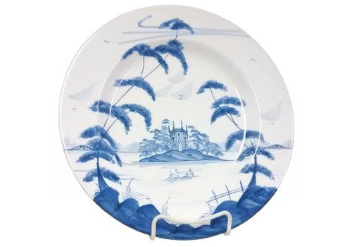 Isis Ceramics Isis Blue English Garden - Gothic Pavilion - Dinner Plate