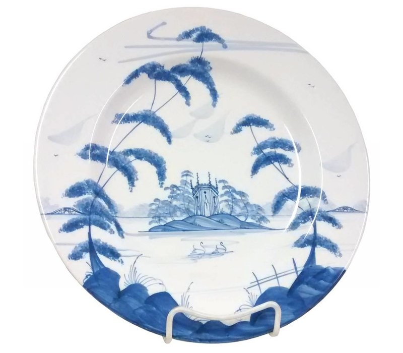 Isis Blue English Garden - Gothic Pavilion - Dinner Plate