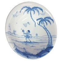 Isis Blue Sporting Monkeys - Ace - Cereal Bowl
