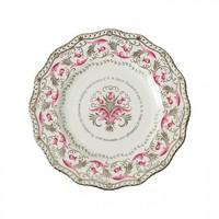 Queen Platinum Wedding Anniversary Gadroon Plate LE