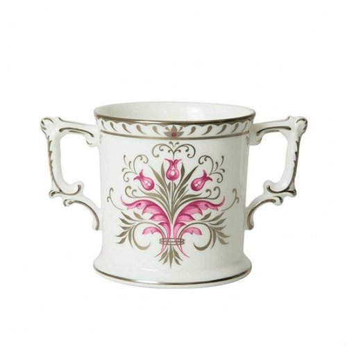 Royal Crown Derby Queen Platinum Wedding Anniversary Loving Cup