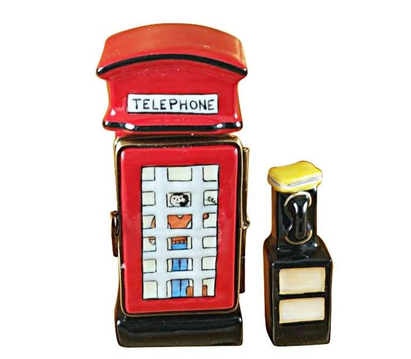 Limoges Phone Booth Box
