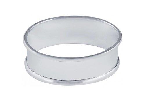 Ari D Norman Ari D Norman Sterling Silver Oval Napkin Rings