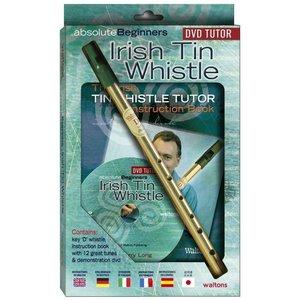Walton's Waltons Irish Tin Whistle with Instructional Book & DVD