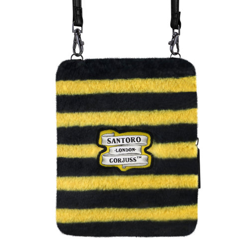 Santoro London Gorjuss Furry Shoulder Bag Bee Wallet Just Bee-Cause
