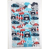 Rainy Days Tea Towel