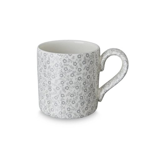 Burleigh Pottery Dove Grey Felicity 1/2 Pint Mug