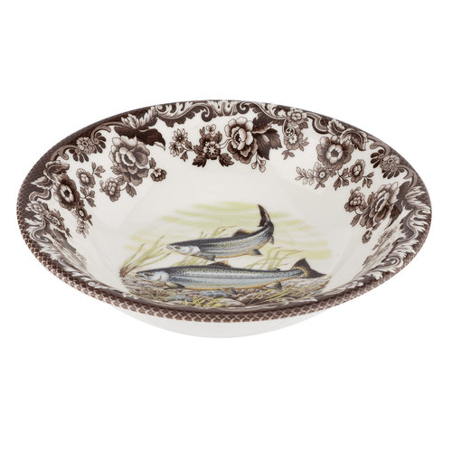 Spode Woodland Spode King Salmon Cereal Bowl