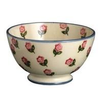 Brixton Pottery Rose Soup Bowl