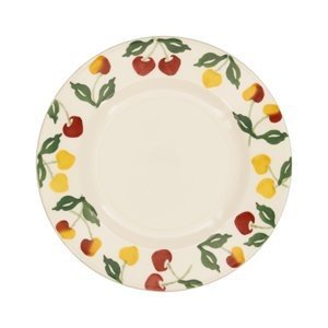 Emma Bridgewater Emma Bridgewater Summer Cherries 8 1/2'' Plate