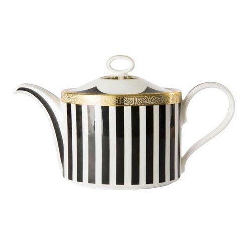 Royal Crown Derby Royal Crown Derby Satori Black Teapot