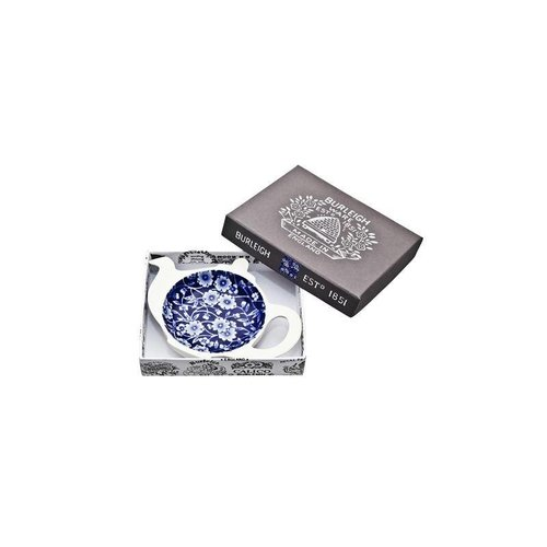 Burleigh Pottery Calico Blue Mini Teapot Tray - Boxed